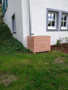 Ibc Container Verkleidung Wassertank Lärchenholz Garten