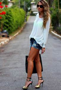 Cool Summer Outfit Ideas with Shorts - Pretty Designs