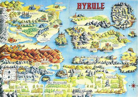 zelda capital maps  hyrule