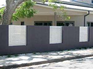 Cloture Maison Moderne : cl tures et palissades de jardin modernes cloture de ~ Melissatoandfro.com Idées de Décoration