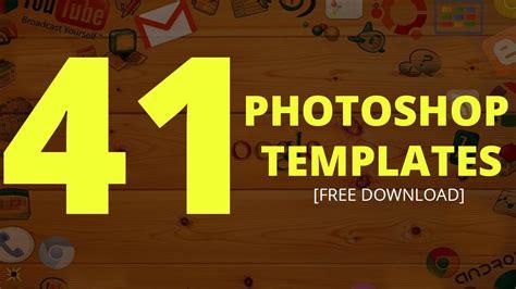 photoshop templates 41 photoshop templates free text effect templates dezcorb