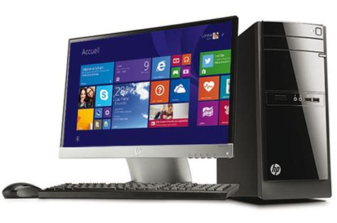 promotion ordinateur de bureau pc de bureau hp 110 522nfm 4088867 darty