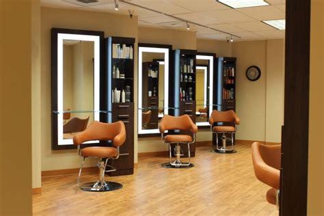 salon interior design salon chairs and illuminated