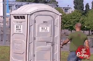 porta potty prank