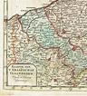 Belgium, Flanders: J.B. Elwé / D.M. Langeveld - Small map ...