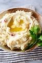 Garlic Mashed Red Potatoes - Craving Tasty