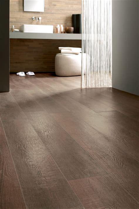 Bathroom With Wood Tile Floor   Home Decorating Ideas