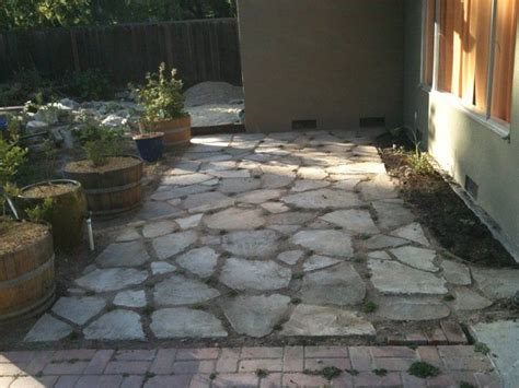 using urbanite for hardscaping part 2 patio kevin s