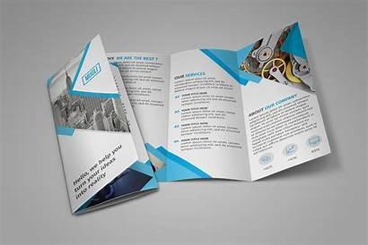 Brochure Fold Tri Template Templates Psd Photoshop