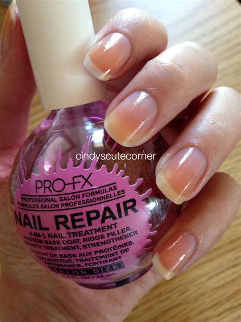 pro fx nail repair polish cindys cute corner
