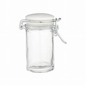 Boite En Verre Alimentaire : mini bocal en verre 70ml home made kitchen craft ~ Teatrodelosmanantiales.com Idées de Décoration