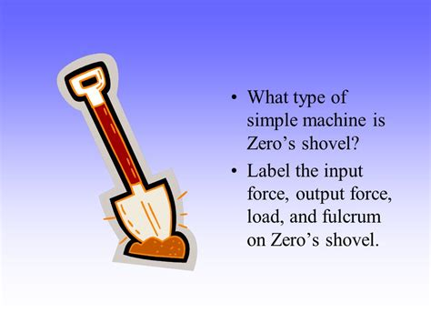 What Kind Of Simple Machine Is A Shovel Iammrfostercom