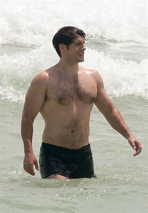Henry Cavill Goes for a Swim in Miami | Tom + Lorenzo