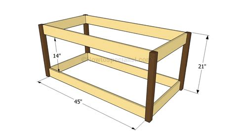 diy toy box plans sep    step  step plans  build  land  nod inspired toybox