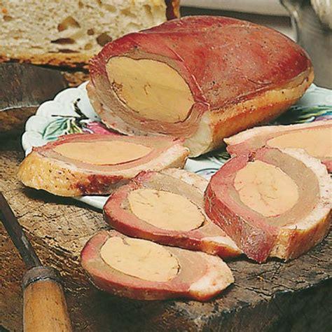 canap駸 au foie gras magret de canard séché fourré au foie gras de canard frais