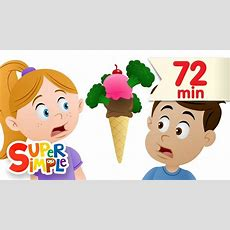 Do You Like Broccoli Ice Cream? + More  Nursery Rhymes  Super Simple Songs Youtube