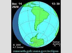 NASA Solar Eclipses 2011 2020