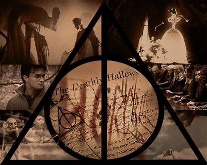Deathly Hallows Potter Harry Wallpapers Miss Deviante