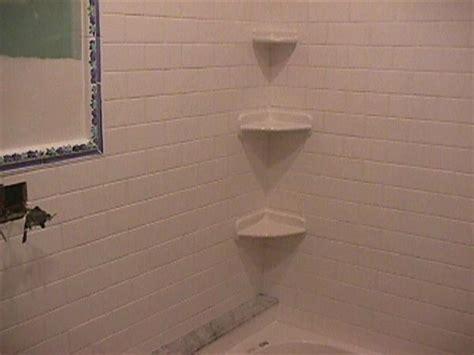 Installing A Corner Shower Shelf