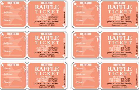 numbered raffle ticket template raffle ticket templates word templates docs