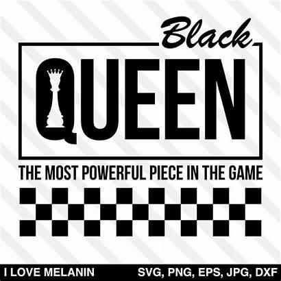 Queen Svg Chess Checkered Magic Powerful Silhouette