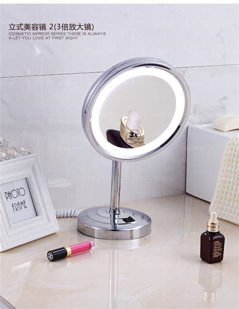 Pull Out Mirror Bathroom by Langpai Faces Led Makeup Mirror Pull Out