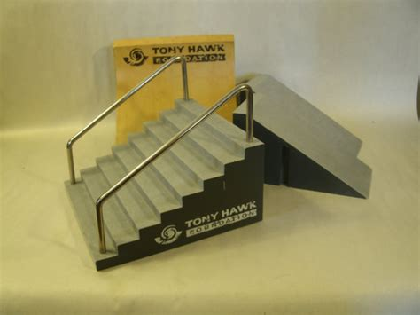 Tech Deck Rs And Rails tony hawk tech deck stairs with rails and by