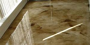 interior gallery custom epoxy finishesfloor and wall With self leveling floor resurfacer