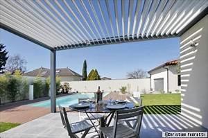 Prix D Une Pergola : une pergola bioclimatique pour profiter de sa terrasse ~ Dailycaller-alerts.com Idées de Décoration