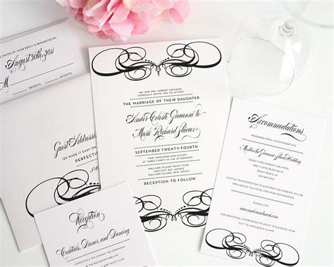 Unique Wedding Invitations In Black And White  Wedding. Good Wedding Party Gifts. Wedding Shower Favor Message. Wedding Dress Designer Zuhair Murad. Fall Wedding Arbor Pictures. Wedding Napkins At Party City. Wedding Venues Bloemfontein. Your Bridal Guide Wedding Planner. Wedding List Quotes