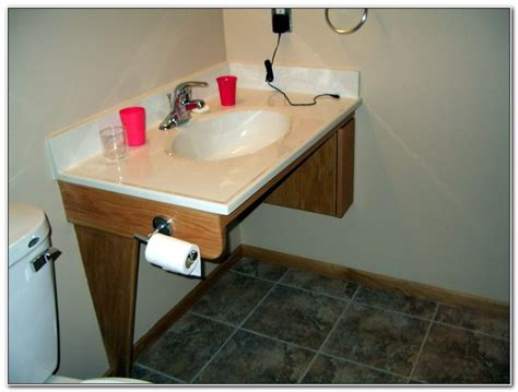 Wheelchair Accessible Bathroom Sink Height Sinks And