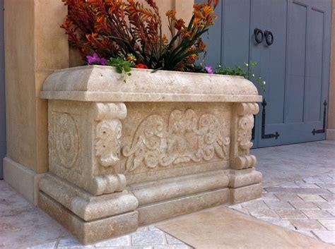 planters finials bt architectural stone