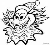 Clown Coloring Pages Face Printable Cool2bkids sketch template