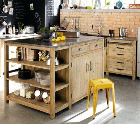 fabriquer un ilot de cuisine en bois les 25 meilleures idées de la catégorie îlots de cuisine