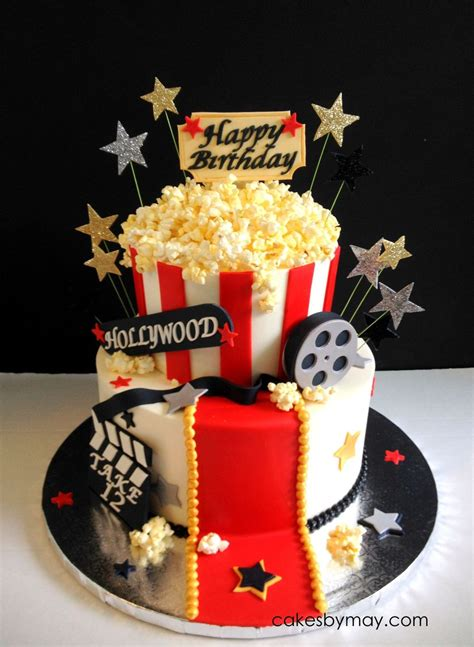 Movie Hollywood Theme Birthday Cake Cakecentralcom
