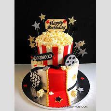 Movie Hollywood Theme Birthday Cake Cakecentralcom
