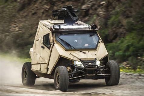 Plasan Yagu Armored Vehicle