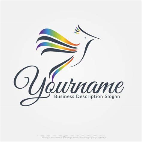 online free logo maker bird logo design
