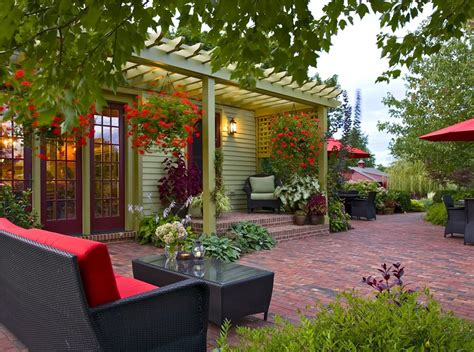 Patio Ideas Images by Brick Patio Ideas Landscaping Network