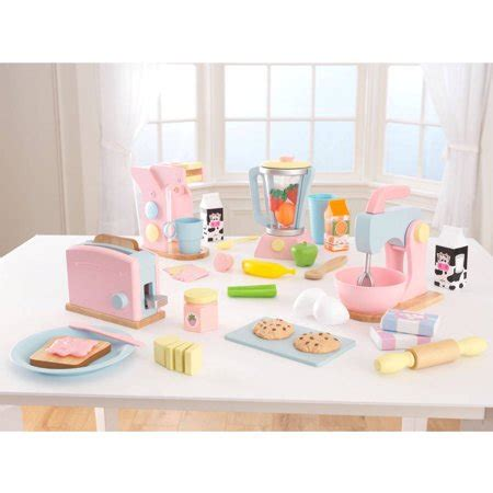 Kidkraft Pastel Play Kitchen Accessories 4pk  Walmartcom