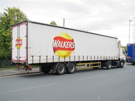 walkers crisps lorry