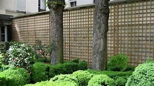 deco jardin plante grimpante With chambre bébé design avec bac a fleur avec treillis gifi