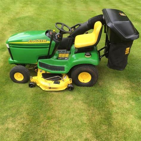 deere lx279 garden tractor bertie green