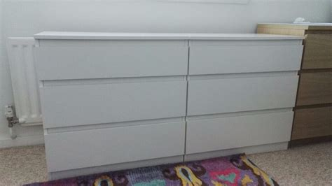 Ikea Culle by 2 White Chests Of 3 Drawers Ikea Kullen In Musselburgh