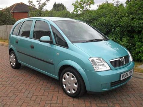 vauxhall meriva 2004 2004 vauxhall meriva photos informations articles