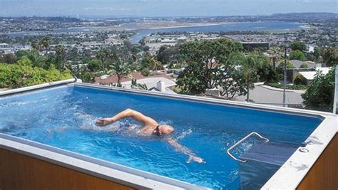 Swimming In Your Pool Without Stopping With An Endless