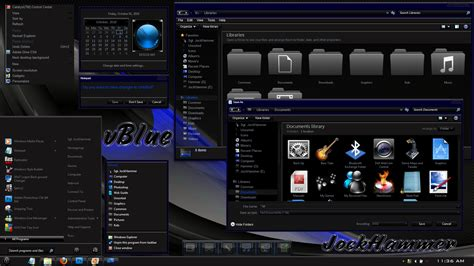 theme bureau windows 7 vblue