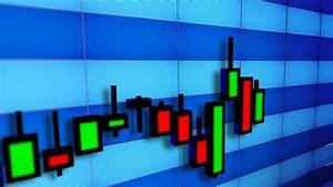Business Stock Market Candlesticks Bar Chart Youtube