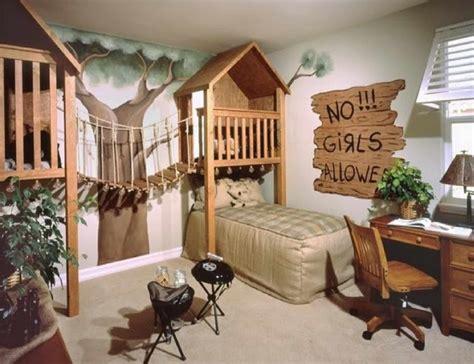 ik chambre ado boomhut kinderkamers inspiratiepapapraat