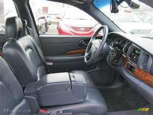 Medium Blue Interior 2001 Buick Lesabre Limited Photo